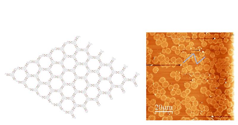 Projet « Matériaux poreux bidimensionnels fonctionnels »