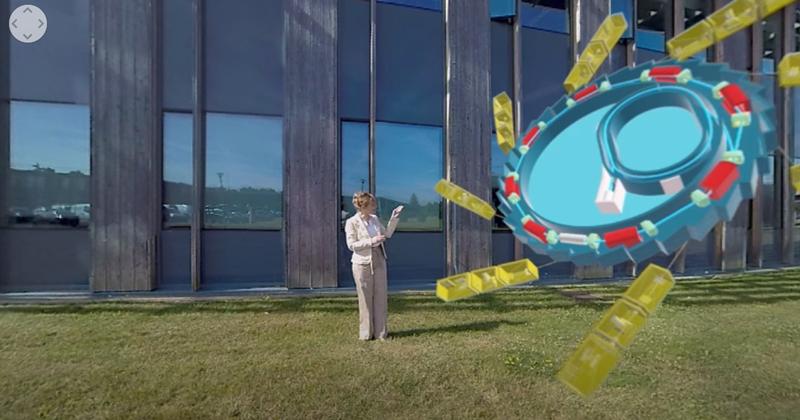 Visite VR 360° du Synchrotron SOLEIL