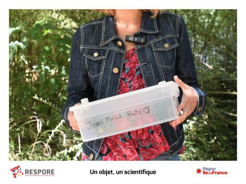 Un objet un scientifique – Mathilde Renouard