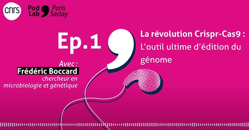 PodLab'Paris-Saclay – La révolution CRISPR-Cas9 : La thérapie génique du XXIème siècle ?
